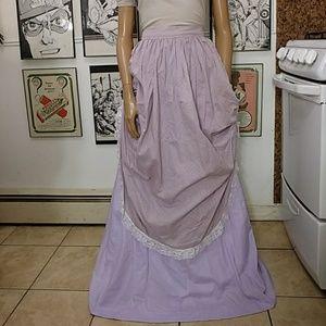 Vintage Maiden Costume Skirt